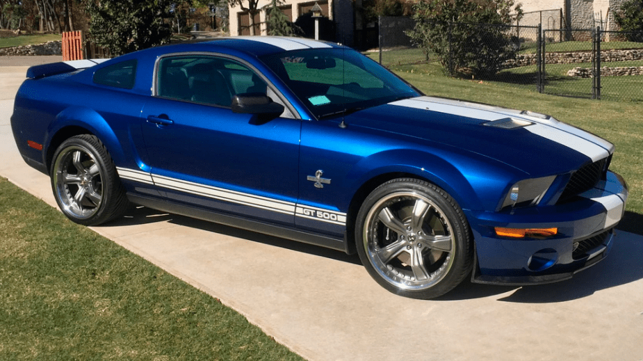 Mustang Shelby GT500 Prototype
