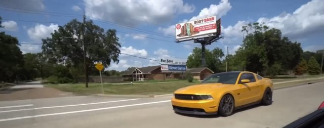 Marin's Mustang
