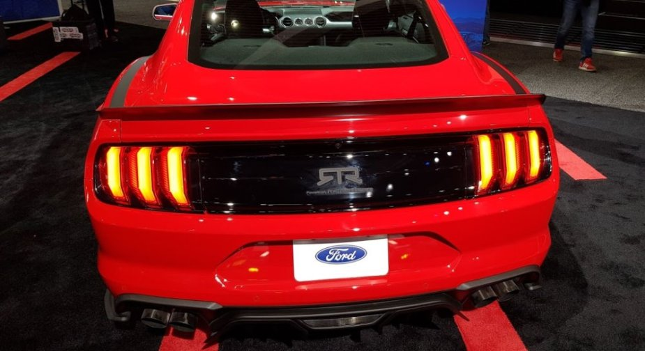RTR Stage 1 Mustang Rear