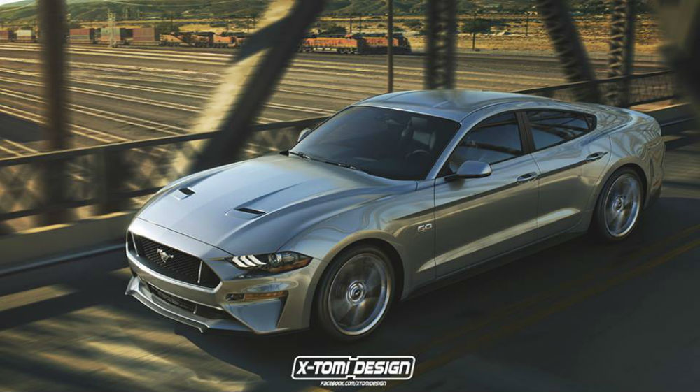 Mustang Four-Door Coupe