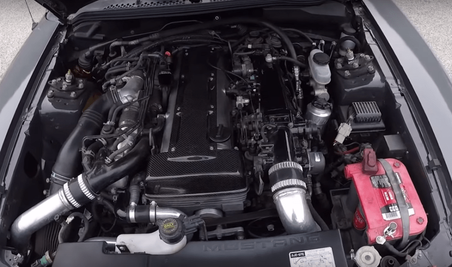 2JZ-Swapped SN95 Mustang
