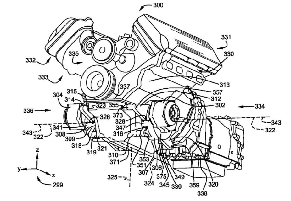 Ford Twin-Motor Hybrid System Patent Image Circa Late January 2019