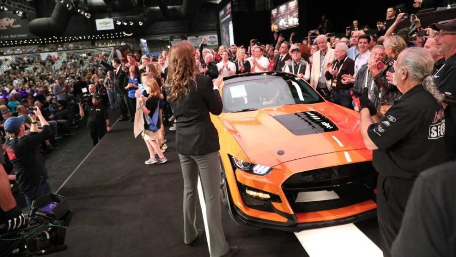 2020 Shelby Mustang GT500 No. 1