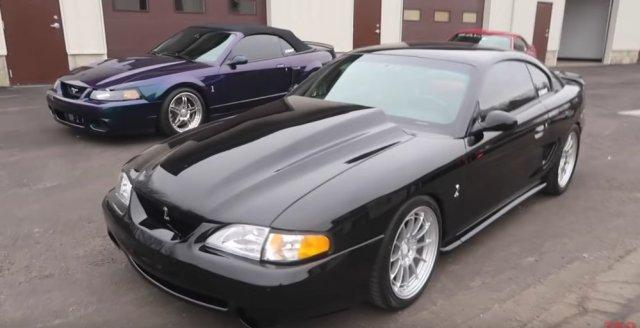 Terminator Cobra and Coyote Swap SN95 Mustang