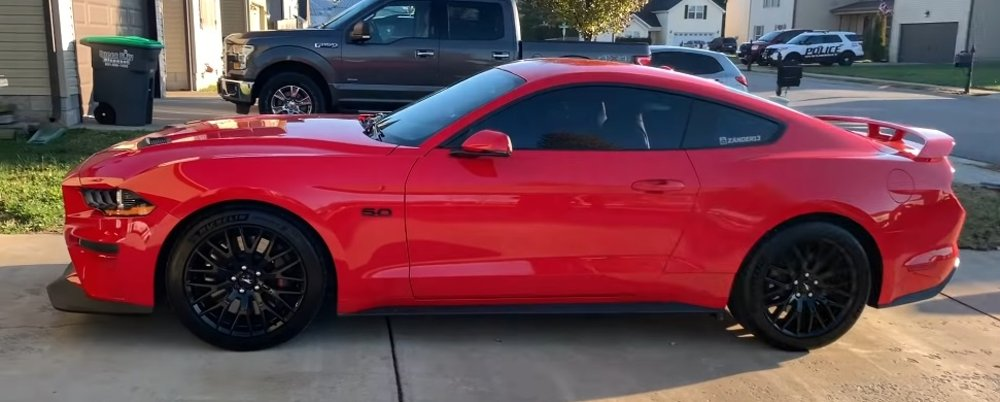 mustang gt engine tick   reflash discussed