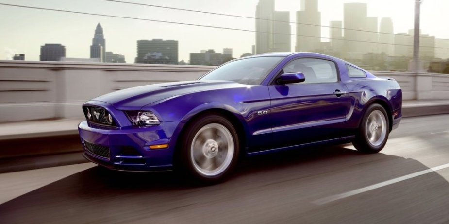 2013 Ford Mustang GT on the Road
