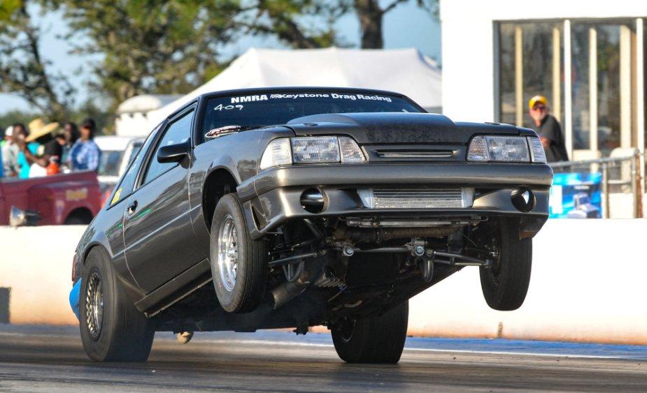 Mustang Wheels Up