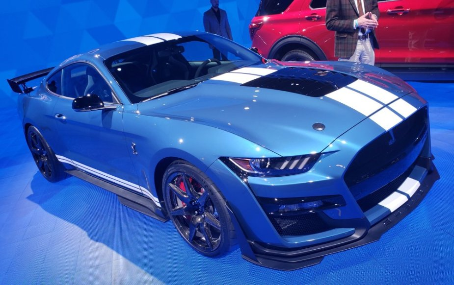 2020 Ford Mustang Shelby GT500 High Front