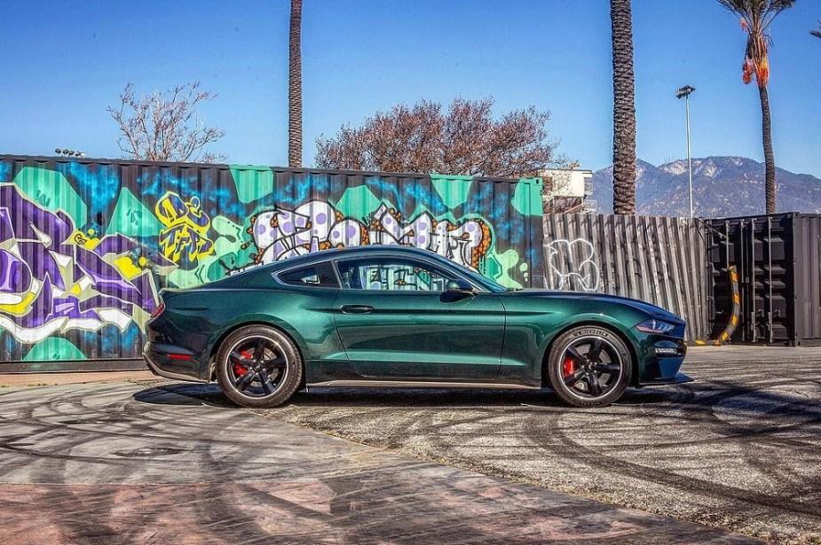 2019 Ford Mustang Bullitt - Instagram