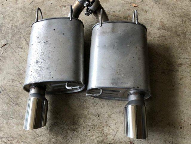 GT500 Mustang Mufflers