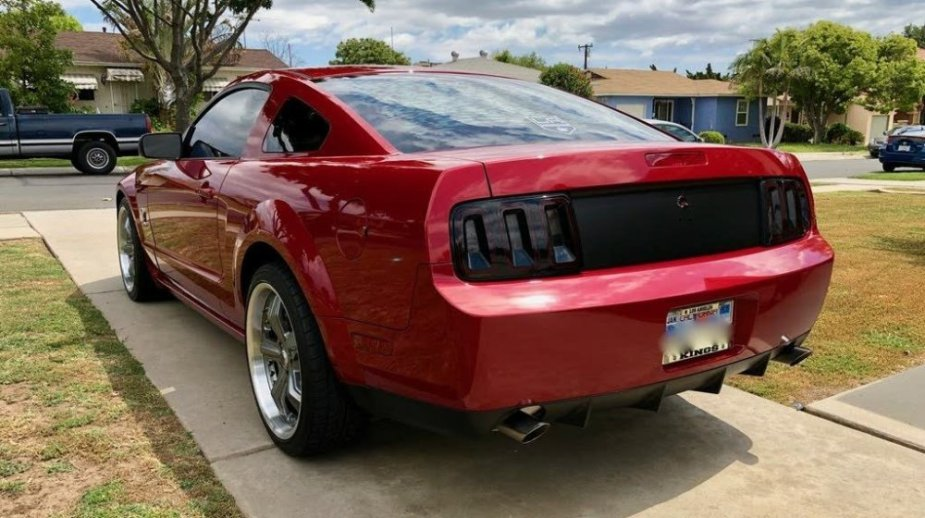 2008 Ford Mustang GT GT500 Look