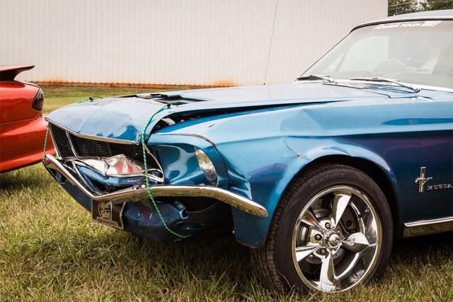 Mustang GT Damage
