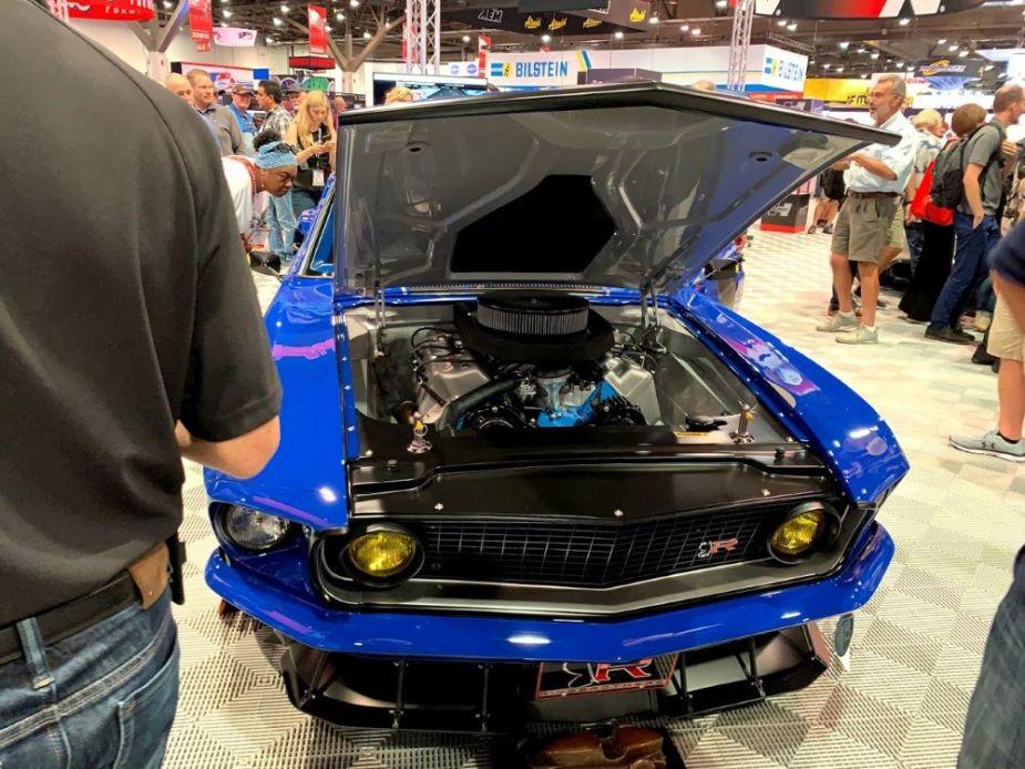 Ringbrothers' '69 Mustang Mach 1 Restomod Unveiled At SEMA