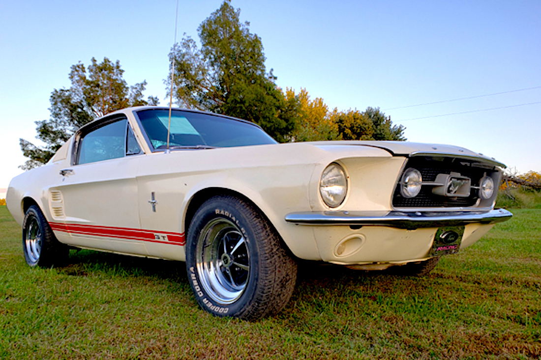 Rust free car and under the vehicle. 67 Barn Find Mustang On Ebay With A Rattle The Mustang Source