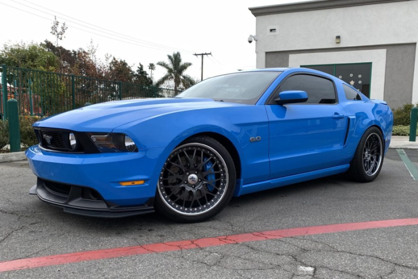 Supercharged 2011 Mustang GT