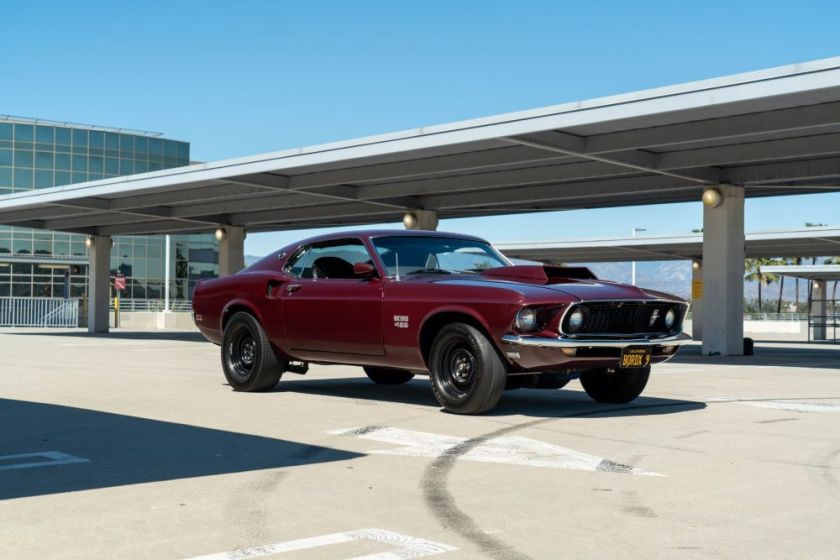 1969 Ford Mustang Boss 429 Tribute