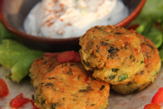 Traditional Falafel's with Yogurt Sauce