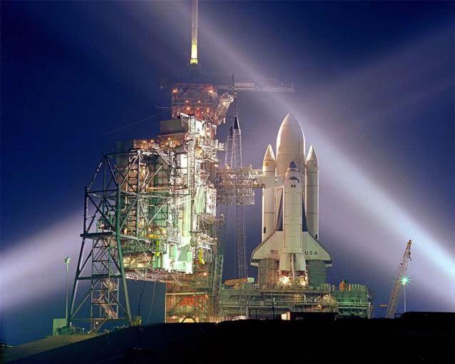 ônibus espacial Coumbia