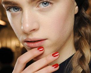 Valentino Red Nails Autumn 2013