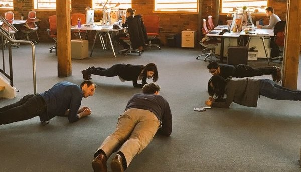 The plank at standup