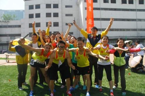 relay group10乘200米后