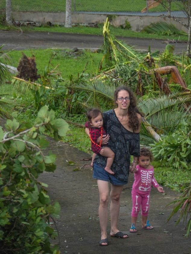 Alejandra Oliveras Puerto Rico Hurricane Maria 2017 Photograph by Victor Rivera