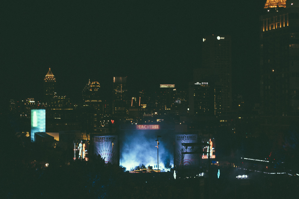 Florence + The Machine from high up