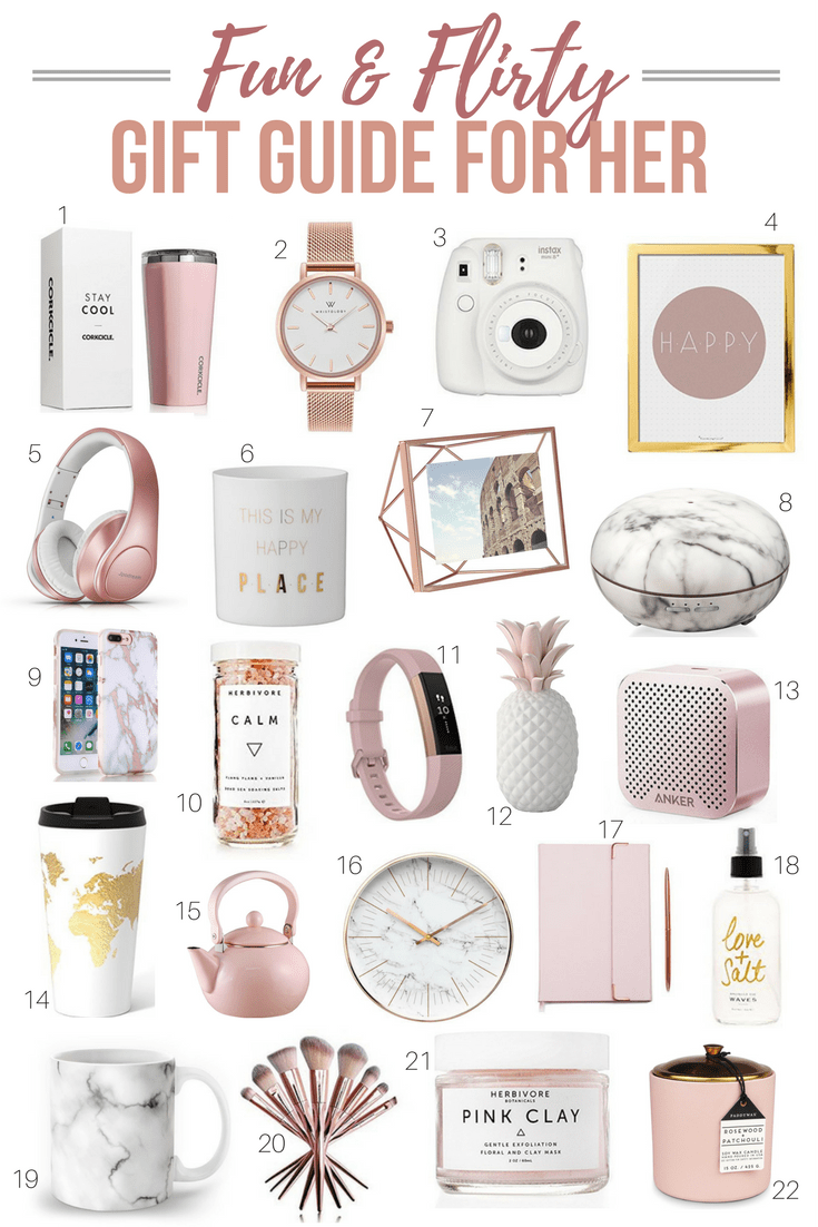 Fun & Flirty Gift Guide For Her