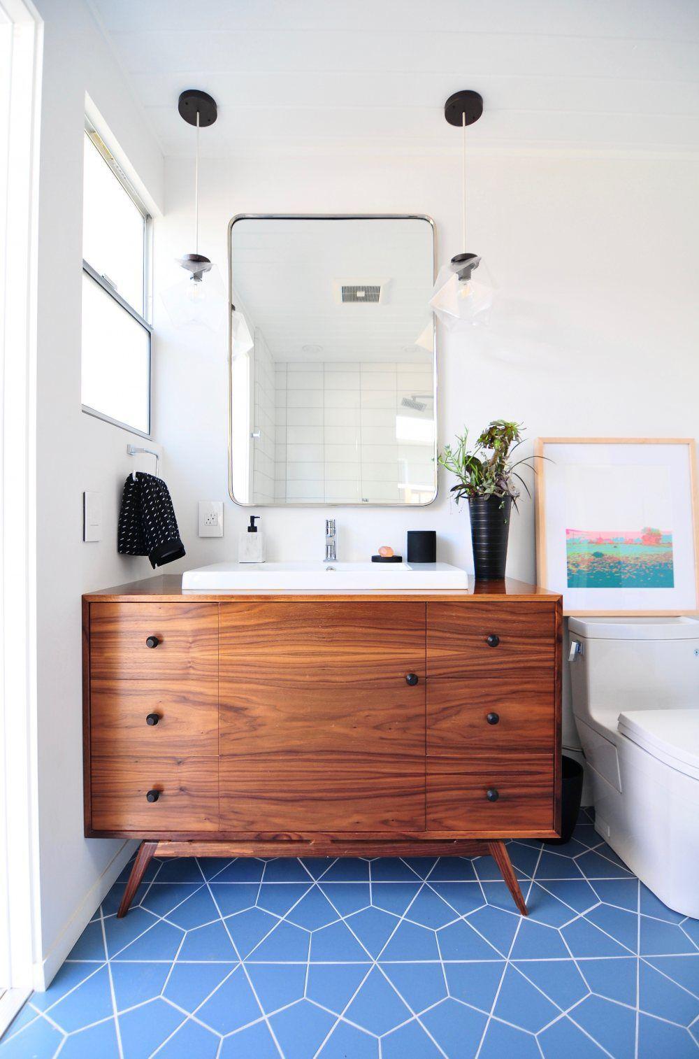 Mid Century Modern Bathroom Ideas, Mid Century Bathroom Tile