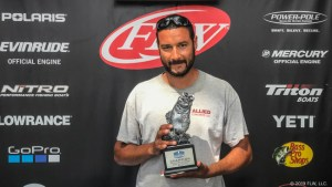 VIRGINIA'S VILLA WINS T-H MARINE FLW BASS FISHING LEAGUE TOURNAMENT ON HIGH ROCK LAKE