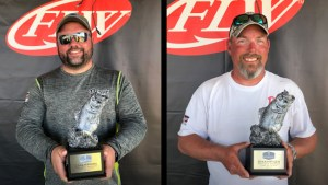 GREENE AND ROSARIO TIE FOR WIN AT T-H MARINE FLW BASS FISHING LEAGUE OPENER ON LAKE ST. CLAIR