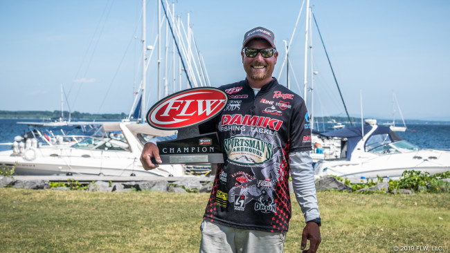THRIFT GOES WIRE-TO-WIRE, WINS COSTA FLW SERIES TOURNAMENT