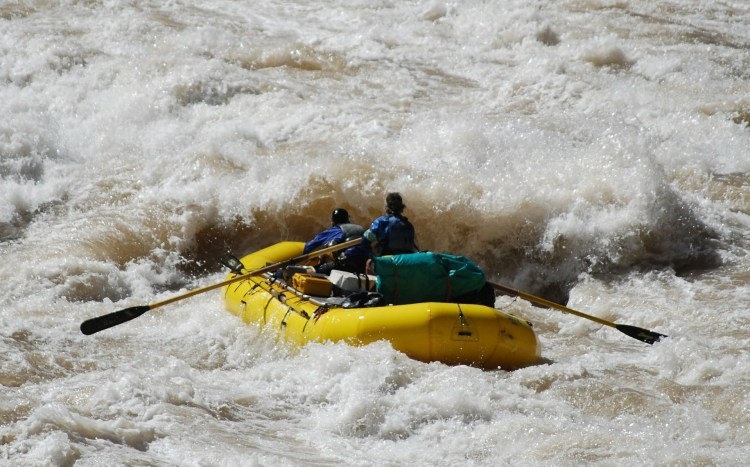 Whitewater rafters - Mendocino National Forest offers first-class whitewater