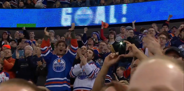 Oilers fans