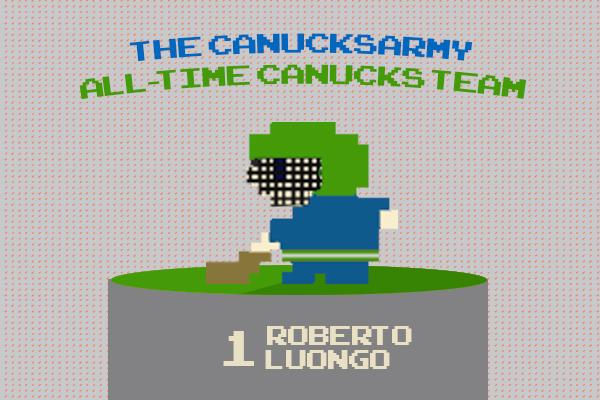 Ca S All Time Greatest Canucks Team Roberto Luongo Canucksarmy