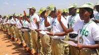 Image result for Amosun urges Corps members to tap into state opportunities