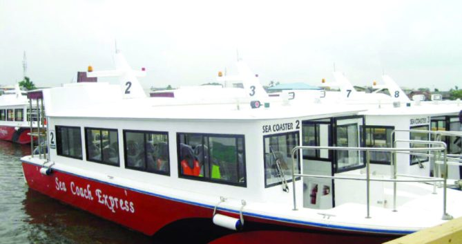 Image result for Lagos scales up work on nine new Jetties, four Ferries