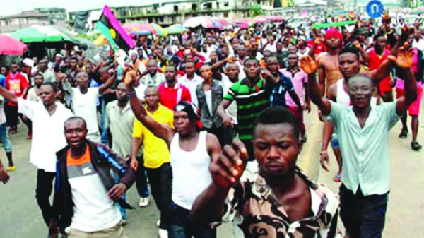 Igbo traders protest murder of colleague