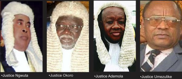 FG set for trial of Supreme Court Justices, seven others