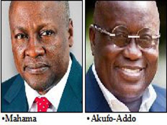 Ghana elects president today