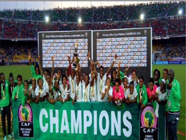Super Falcons are  African champions again