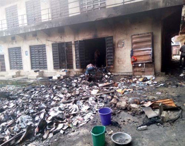 Fire destroys N30m worth of goods in Alaba market