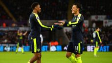 Iwobi shines in Arsenal goal feast