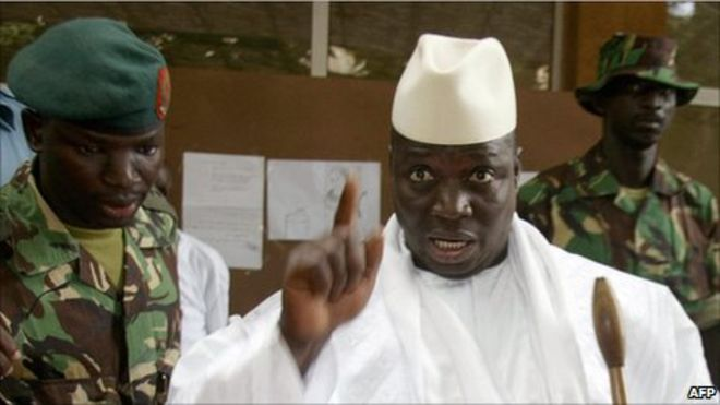 Jammeh leaves Banjul today, ECOWAS forces await briefing