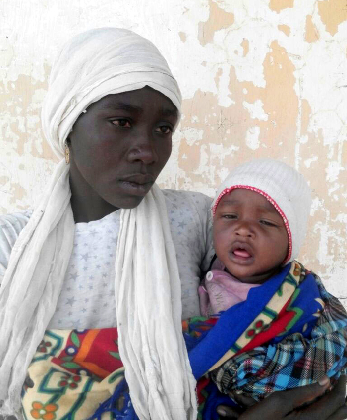 Chibok schoolgirl found with six-month-old baby