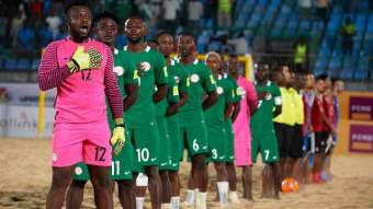 Image result for Super Sand Eagles off to the Bahamas for FIFA Beach world cup