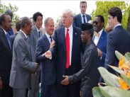Image result for Trump pledges $639m aid to feed people facing starvation