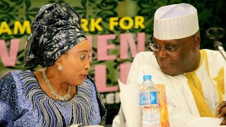 Atiku and Wife
