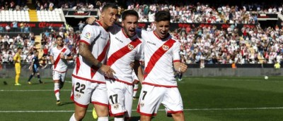 La Liga: Rayo Vallecano win at Real Valladolid after surviving late penalty scare