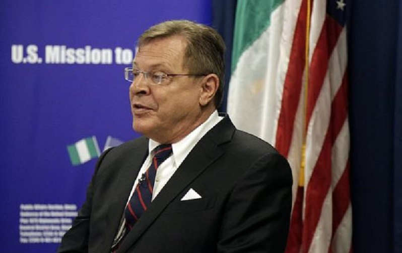 Image result for APC to U.S. envoy: Buhari will win without rigging